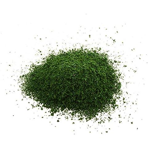 Verde Scuro Forma Granulare Fai Da Te Fogliame Spugna Lascia Modello Modelli Di Mini Alberi