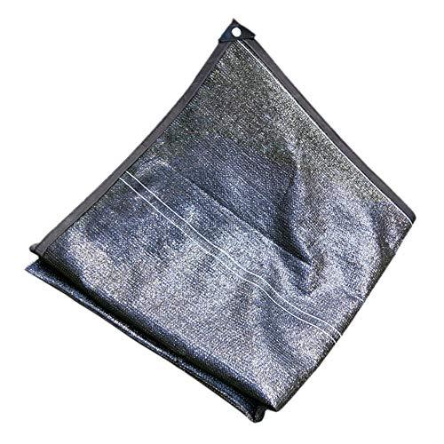 Shade cloth 90-95% Sonnenschutznetz, Schwarzes Sonnenschutznetz, Garten- / Blumen- / Pflanzengewächshaus/Beschattungsnetz (Size : 4 * 10M)