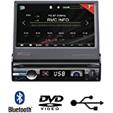 "TAKARA CDV1877BT Autoradio 7"" bluetooth multimédia DVD"