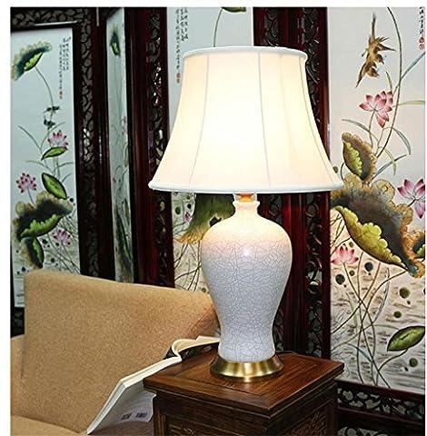 Lampe en céramique lampe de table décorative de haute qualité , white