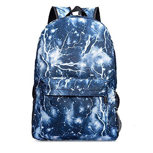 Imagen de galaxy de  escolar, bolsa de viaje unisex  escolar colección lienzo , thunder blue azul  ev g1