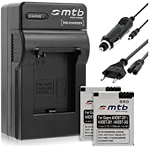 Mtb More Energy - Cargador para GoPro Hero3 & Hero3+ Black, White & Silver Edition + 2x baterías de 1100mAh