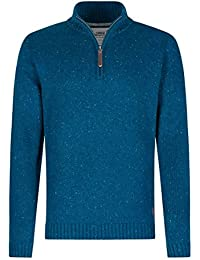 Weird Fish Brayden 1/4 Zip Knitted Jumper