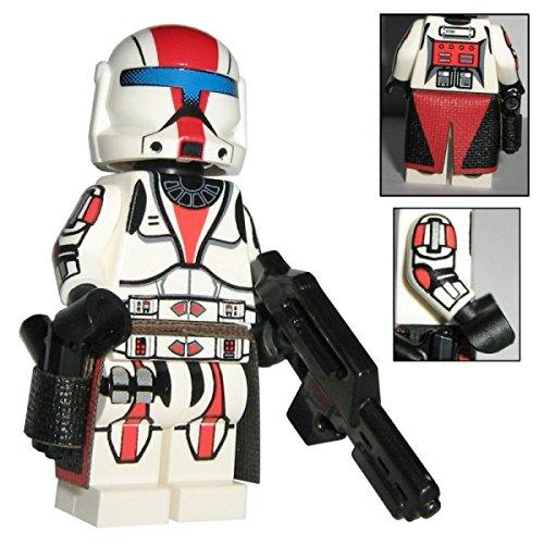 Rep. Senat Commando Clone Trooper - custom design Star Wars Figur gefertigt aus Lego & custom (Customs Star Wars Lego)