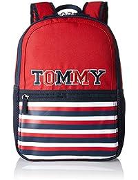 Tommy Hilfiger Kids Th Fun Backpack Small, Sacs à dos garçon, Rot (Corporate), 9.5x33x23 cm (B x H T)
