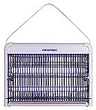 Grundig ZD30W UV-Licht LED Insektenvernichter Insektenfalle elektrisch, Insektenlampe mit 8W, Moskito Killer für