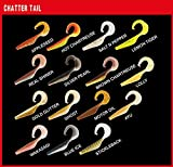 5 Fox Rage Gummifische Chatter Tail Gummifisch Drop Shot 10cm, Farbe:Lolly