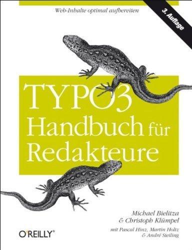 TYPO3-Handbuch für Redakteure von Bielitza, Michael (2011) Gebundene Ausgabe