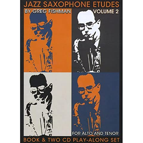 Jazz Saxophone Etudes, Vol. 2