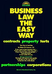 Business Law the Easy Way (Barron's E-Z) by Robert W. Emerson (1994-03-03)