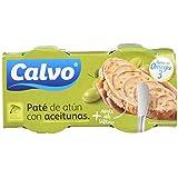 Calvo Pate de Atún con Aceitunas - Paquete de 10 x 150 gr - Total: 1500 gr