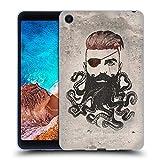 Head Case Designs Officiel Vin Zzep Barbe Noire Vintage Étui Coque en Gel Molle pour Xiaomi Mi Pad 4