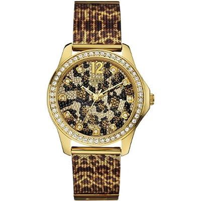 Guess W0333L1 - Reloj de pulsera para mujer, color blanco / plata de Guess