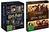 Harry Potter DVD Box Teil 1-7.2 [8 DVDs] + Mittelerde Collection DVD Box (Der Hobbit + Der Herr der Ringe Box) [6 DVDs]