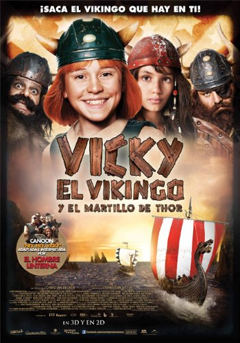 Vicky El Vikingo Y El Martillo De Thor [DVD]