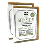 Common Oxen - COLD PRESSED NEEM OIL, Natural Botanical Oil Soap for Face