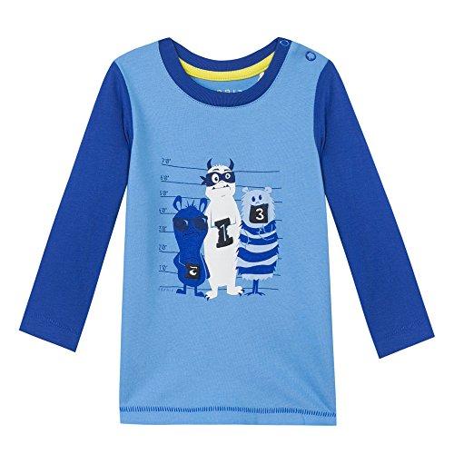 Esprit Kids Baby-Jungen T-Shirt, Mehrfarbig (Hellblau 440), 62