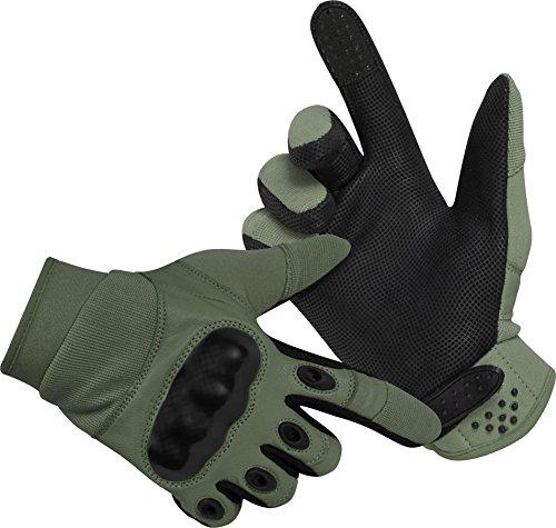 Camping & Outdoor Taktische Kevlar Einsatzhandschuhe mit Protektoren und verstellbaren Verschluss Damen