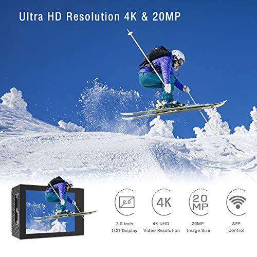 Zoom IMG-1 jeemak action cam 4k wifi
