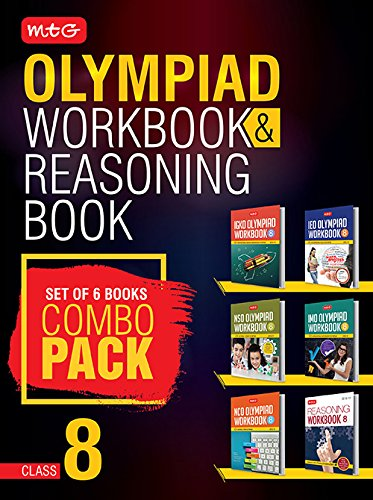 Class 8: Work Book & Reasoning Book Combo for NSO-IMO-IEO-NCO-IGKO (2018-19)