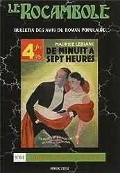 Le Rocambole, N° 61 : Maurice Leblanc sans Lupin