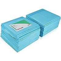 Protector de colchón desechable y superabsorbente de REMEDIES, grande 76 x 91 cm, 85 gramos, 3g, 100 piezas