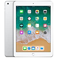 Apple iPad (9.7 Inch, WiFi, 128GB) with Facetime - Silver (Latest Model)