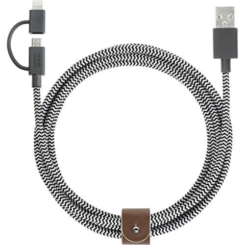 Native Union belt-ul-zeb doppio cavo USB (Link Cintura)