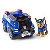 PAW PATROL 6053383 Chase's Transforming Police Cruiser with Flip-Open Megaphone, for Ages 3 and Up, Multicolour