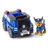PAW PATROL Pat' Patrouille - Chase Transformant Police Cruiser avec Mégaphone à...