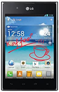 LG P895 Optimus Vu Smartphone mit Stylus (12,7 cm (5 Zoll) Touchscreen, QuadCore, 1,5GHz, 8 Megapixel Kamera, Android 4.0) schwarz