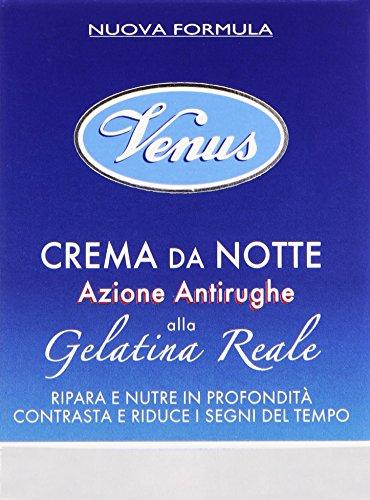 Venus - Crema Da Notte, Azione Antirughe, Alla Gelatina Reale -  50 Ml