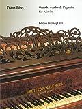 Grandes études de Paganini für Klavier - hrsg. von Ferruccio Busoni (EB 484) - Franz Liszt