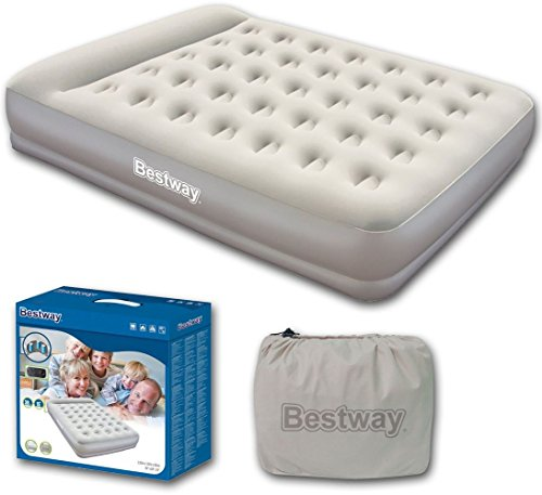 Bestway Restaira Premium Queen Bed Include Built-In Electric Pump and Pillow