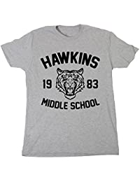 Postees Hawkins Middle School Inspired by Stranger Things T-Shirt