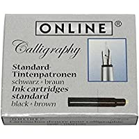 Cartucce d'inchiostro standard per penna stilografica, marrone e nero - Confronta prezzi
