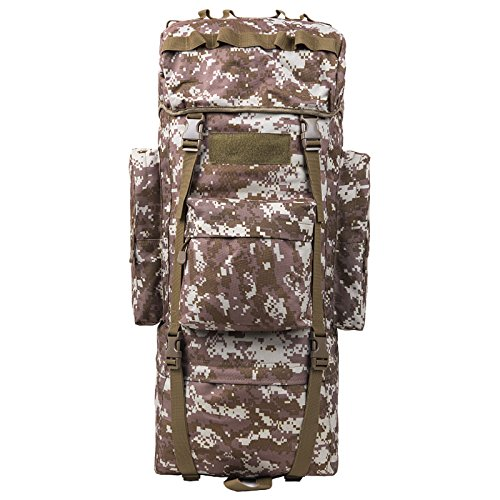 GOUQIN Outdoor Rucksack Klassische Mode Von Outdoor Dual Umhängetaschen 100 L Masse Klettern Taschen Wandern Paket Tasche K