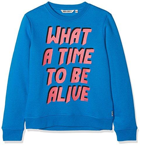 Garcia Kids Garcia Kids Mädchen T82665 Sweatshirt, per Pack Blau (Vibrant Blue 2619), 128 (Herstellergröße: 128/134)