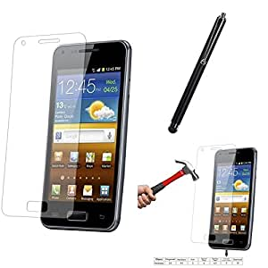 Qualitas Pack of 5 Tempered Glass for Google Nexus 5 + Touch Screen Stylus