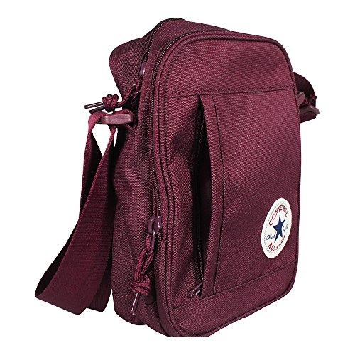 CONVERSE Core Poly Cross Body Bag 10003338 A01 Maroon