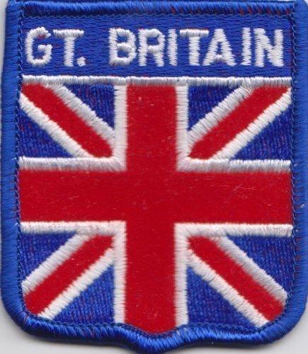Great Britain Union Jack Flagge Patch Aufnäher Abzeichen (Union Abzeichen Jack)