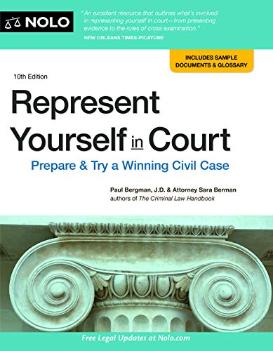 Represent Yourself in Court: Prepare & Try a Winning Civil Case (English Edition)