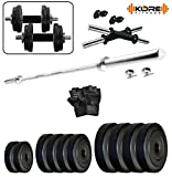 #8: KORE 20KGCOMBO10-WB Home gym & Fitness Kit