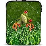 MySleeveDesign – Funda universal de neopreno para iPad mini tablet de 7 -7,9 pulgadas – VARIOS DISEÑOS Y COLORES - Orange Frog