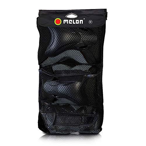 MELON Unisex Protektoren, Größe L, Hardshell Protector Kit FLOW