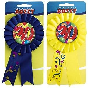 Folat Roseta para 30 cumpleaños.