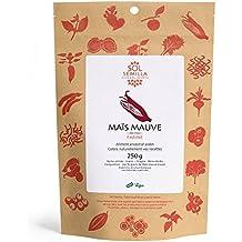 Harina de Maíz morado ecológica, Harina de Maíz malva cruda Bio - Chicha Morada | 250g | Sol Semilla
