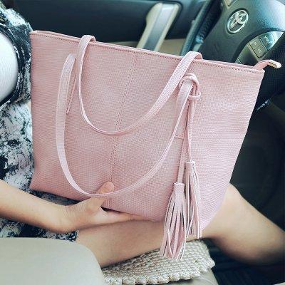 pacchetto ha una ragazza elegante confezione di piacere spalla selvatici al massimo il flusso di pacchetti in modo minimalista tappezzerie mano pacchetto massimo lunga29cm larghezza12cm alto28cm Rosa fotografato l'aggiunta del kit della scheda