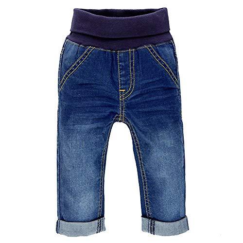 Feetje Baby-Unisex Jeans mit Gummibund 522.01050-950 Blue Denim, 74
