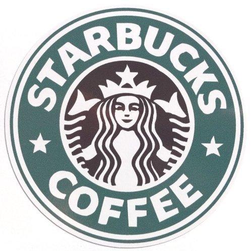 Preisvergleich Produktbild Starbucks logo sticker predecessor waterproof seal (japan import)
